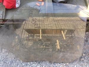 стекло двери Toyota Chaser