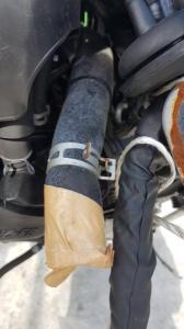 патрубок радиатора Toyota Probox