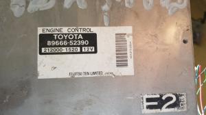блок управления efi Toyota Sienta