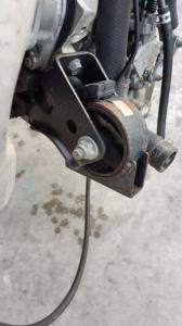 подушка двигателя Toyota Levin