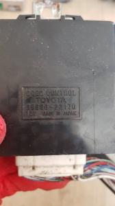 Блок управления дверьми Toyota Cresta