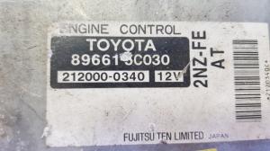 блок efi Toyota Vitz