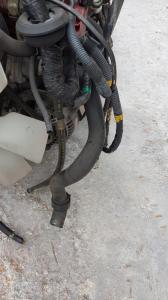 патрубок радиатора Toyota Hiace Regius