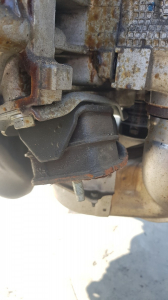 подушка двигателя Subaru Impreza