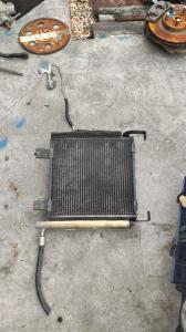 радиатор кондиционера Toyota Duet