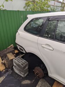 крыло Toyota Corolla Fielder