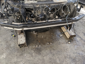 жесткость бампера Toyota Crown