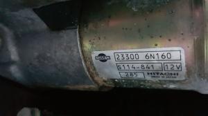 стартер Nissan Bluebird Sylphy